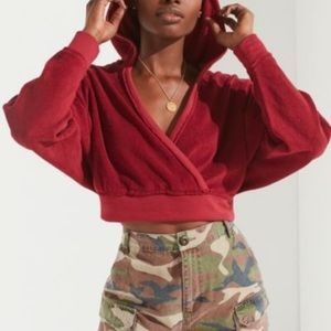 Urban Outfitters Sedona Cropped Hoodie UO